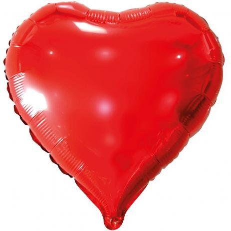 Balão Metalizado Coração Uni