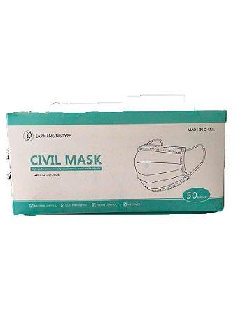 Máscara Dupla Civil Mask C/50 Uni