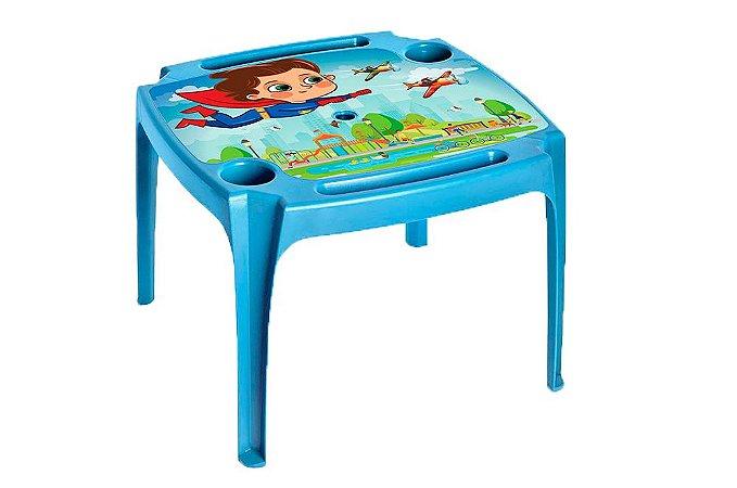 Mesa Infantil Azul