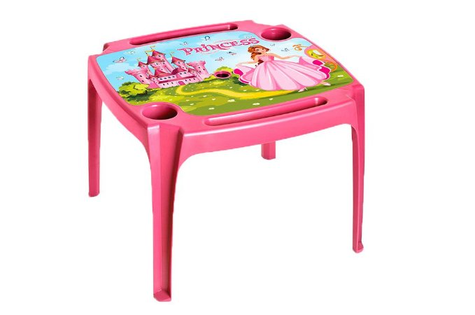 Mesa Infantil Rosa