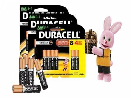 Pilha Duracell Palito AAA C2 CRT
