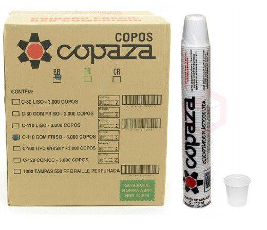 Copo Copaza 110ml C/100
