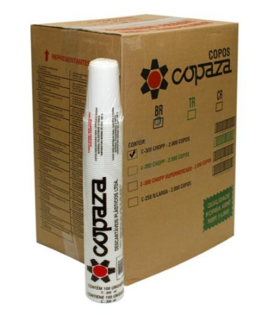 Copo Copaza 150ml C/100