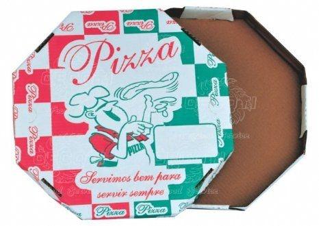 Caixa p/ Pizza Oitavada Lisa n°25