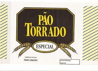 Saco PP Imp. Pão Torrado PCT C/100