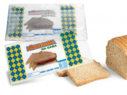 Saco PP Imp. Pão de Forma PCT C/100