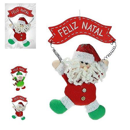 Enfeite Natal Boneco Guirlandia