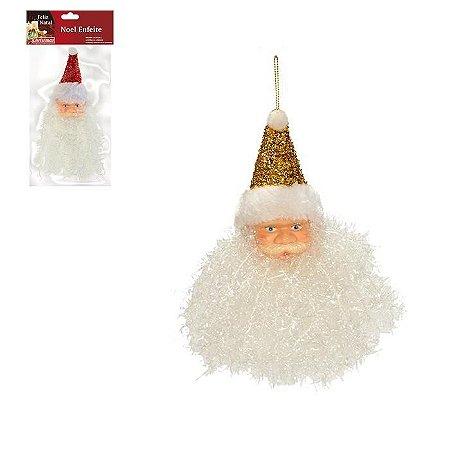 Enfeite Cabeça Noel
