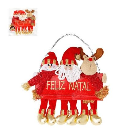 Noel Boneco e Rena Feliz Natal