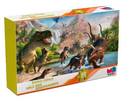 Quebra Cabeça Vale Dos Dinossauros