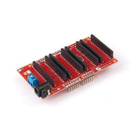Base Board UNO – Para Arduino UNO, MEGA e similares