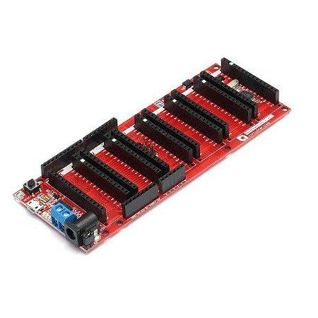 Base Boarduino L – Arduino UNO 6 slots