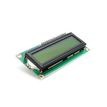 Display LCD 16×2 I2C Backlight Verde