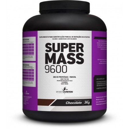 Super Mass 9600 3kg - Sports Nutrition