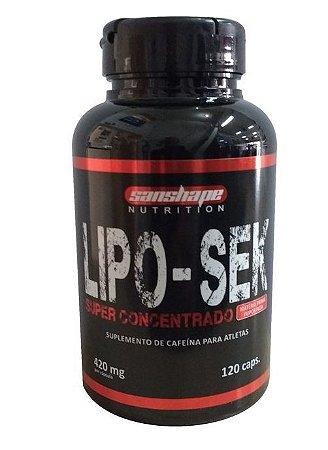 Lipo- Sek c/120 Cápsulas - Sanshape Nutrition