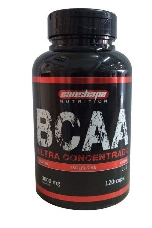Bcaa Ultra Concentrado c/120 Cápsulas - Sanshape Nutrition