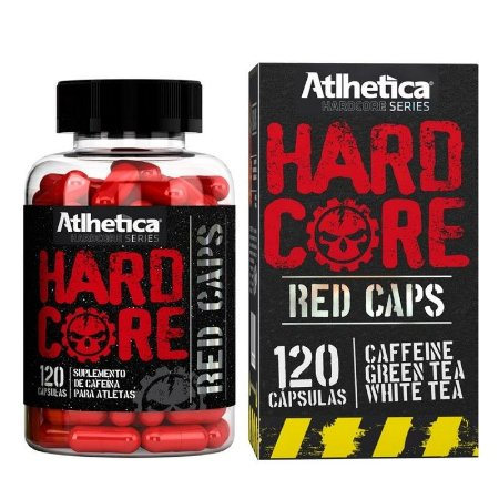 Hardcore Red Caps c/120 Cápsulas - Atlhetica Nutrition