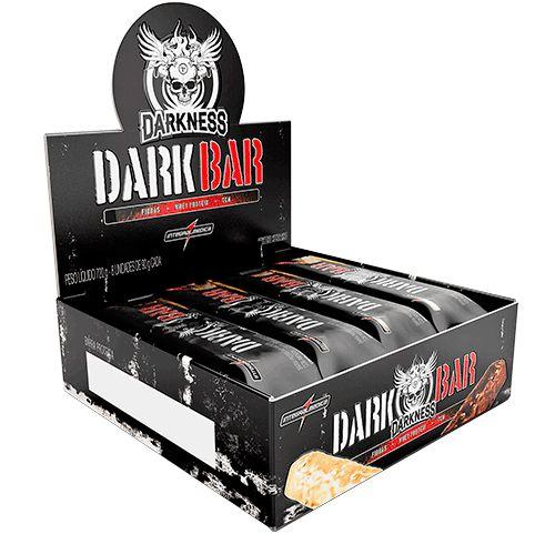 Whey Bar Darkness Caixa c/8 unidades (90g) - Integramedica