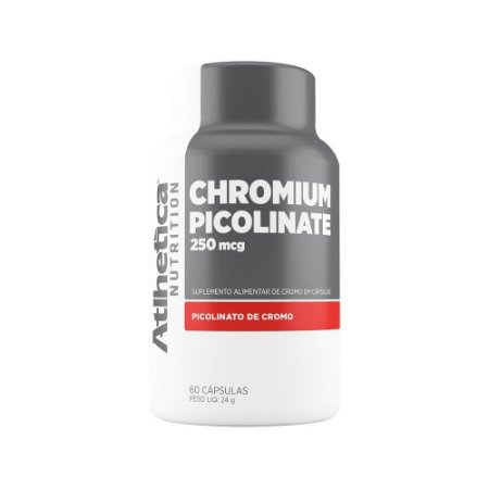 Chromium Picolinate c/120 Cápsulas - Atlhetica Nutrition