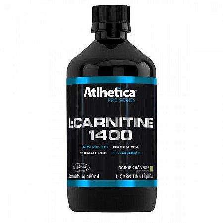 L- Carnitina 1400 Pro Series 480ml - Atlhetica Nutrition