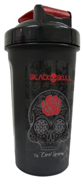 Coqueteleira Carol Saraiva 600ml - Black Skull