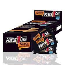 Paçoca Zero Caixa com 24 unidades (18g cada) - Power 1One