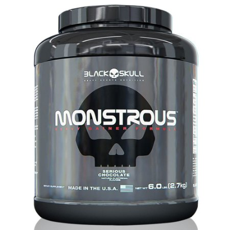 Monstrous Gainer 6lbs (2,7kg) - Black Skull