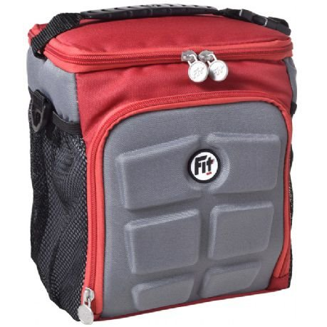 Bolsa Térmica Fit Bag Mini - Vermelho c/Cinza