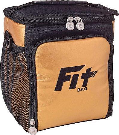 Bolsa Térmica Fit Bag Mini - Dourada