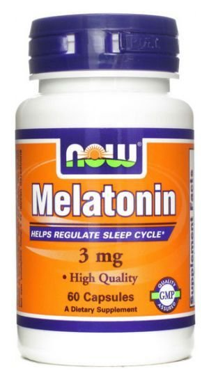 Melatonina 3 mg c/60 Cápsulas - Now Foods