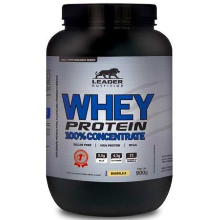 Whey Protein 100% Concentrate 900g - Leader Nutrition