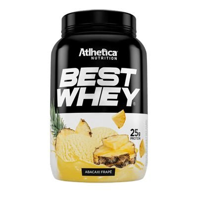 Best Whey 900g Atlhetica Nutrition a Proteína Mais Gostosa do Brasil