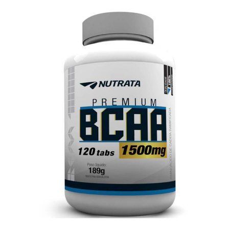 BCAA 1500mg c/120 Tablets - Nutrata