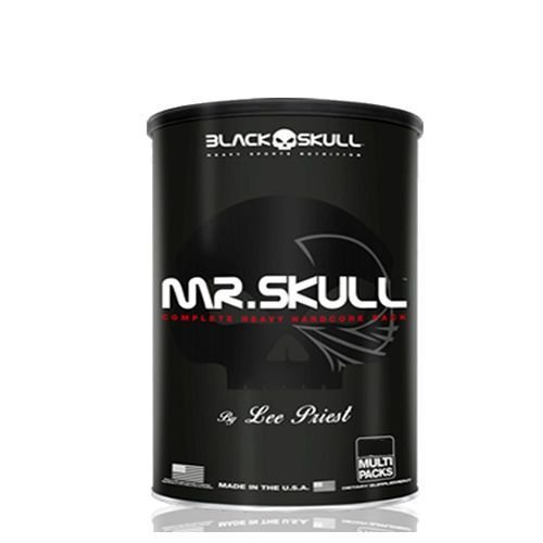 MR. Skull (22packs) - Black Skull