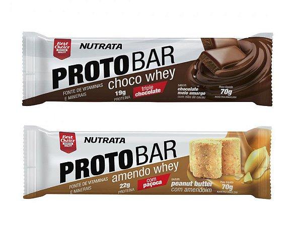 Barra proteina Protobar 70g - Nutrata
