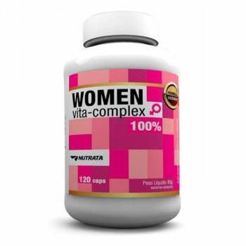 Women Vita Complex c/120 cápsulas - Nutrata