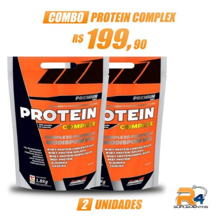 Combo Protein Complex (1,8kg cada unid) – New Millen