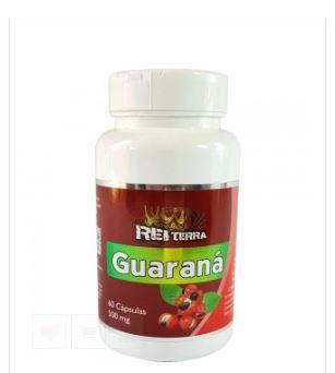 Guarana 500mg c/60 Capsulas – Rei Terra