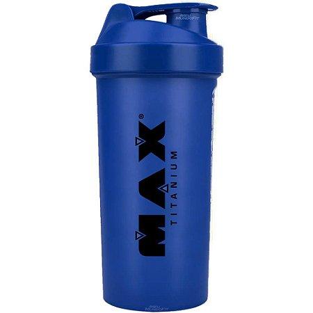 Coqueteleira Shaker Azul 700ml - Max Titanium