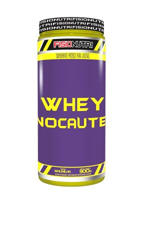 Whey Nocaute (900g) - Fisionutri