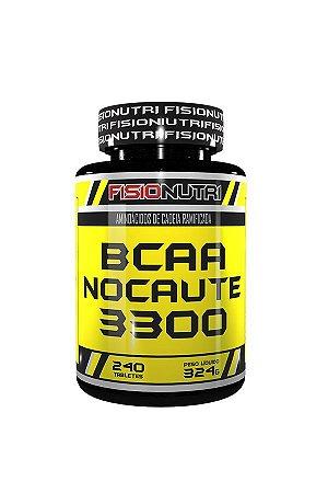 Bcaa Nocaute 3300 (240 tabs) Fisionutri