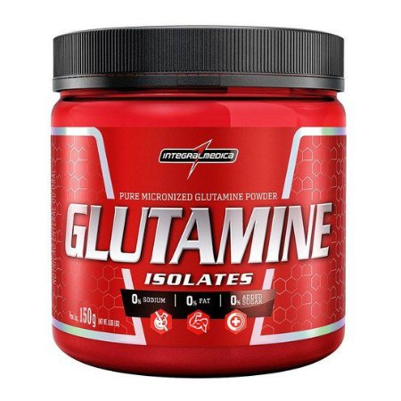 Glutamine isolates 150g - Integralmédica