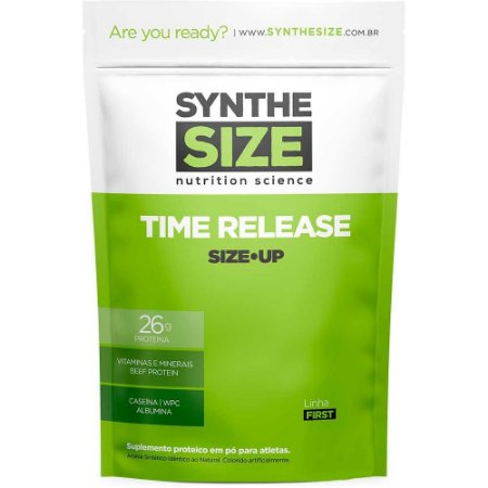 Whey Time Release 1,814kg - Synthe Syze