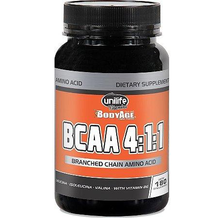 BCAA 4:1:1 (180 caps) - Unilife Vitamins