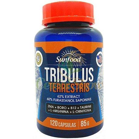Tribulus Terrestris (120 cáps) - SunFood