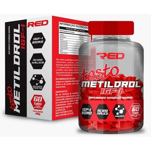 Testo Metildrol (60 Tabletes) - Red Series