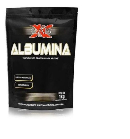 Albumina Pura Natural 1kg Xlab proteína de Alto valor Biológico