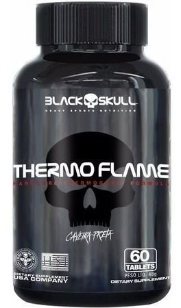Termogênico Thermo Flame (60 Tabletes) - Black Skull