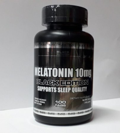 Melatonina 10mg c/100 tabletes - Black Nutrition