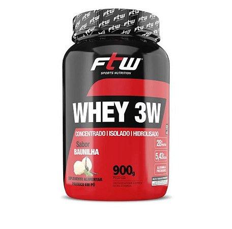 Whey Protein 3w 900g - FTW Sports Nutrition